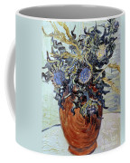 Still Life With Thistles Coffee Mug by Vincent van Gogh