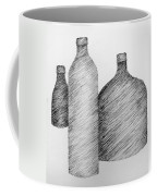 Still Life With Three Bottles Coffee Mug