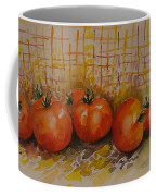 Still Life With Tomatoes Coffee Mug