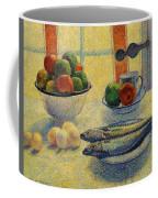 Stilleven Met Vis 1885 Coffee Mug