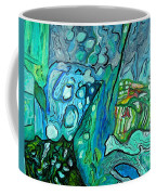 Stingrays Departing Coffee Mug