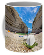Stinva Bay Beach Summer View Coffee Mug
