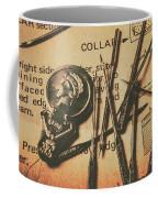 Stitching The Worn Coffee Mug