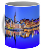 Stockholm Blue Hour Postcard Coffee Mug