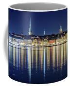 Stockholm Old City Magic Quartet Reflection In The Baltic Sea Coffee Mug