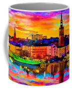 Stockholm Reflective Art Coffee Mug