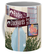 Stockyards Fort Worth 6815 Coffee Mug