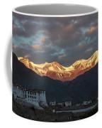 Stok Range At Dawn, Stok, 2004 Coffee Mug