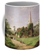 Stoke Poges Church Coffee Mug by Jasper Francis Cropsey