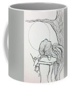Stone Angel Coffee Mug by Loretta Nash