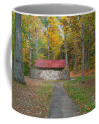 Stone Building In The Park Coffee Mug