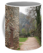 Stone Building Wall And Fence Coffee Mug
