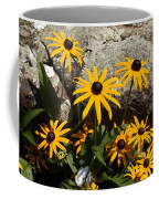 Stone Flowers Black Eyed Susan Coffee Mug
