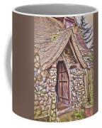 Stone House In Skagit County Coffee Mug