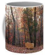 Stone Leaves And Trees Coffee Mug