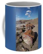 Stone Log Smoke Signals Coffee Mug