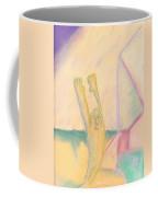 Evo Stone Man Emotes Coffee Mug