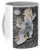 Stone Map Of Ireland Coffee Mug