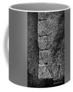 Stone Mason Scars Monochrome Coffee Mug