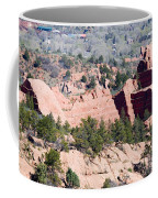 Stone Quarry In Red Rock Canyon Open Space Park Coffee Mug