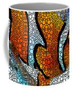 Stone Rock'd Clown Fish 2 - Sharon Cummings Coffee Mug