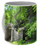 Stone Stairway Along The Wissahickon Creek Coffee Mug