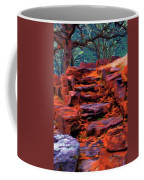 Stone Steps In Autumn Coffee Mug