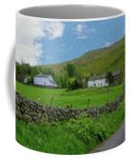 Stone Wall Lake District - P4a16012 Coffee Mug