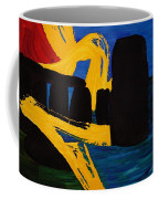 Stonehenge Abstract Evolution1 Coffee Mug