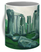Stonehenge In Spring Coffee Mug