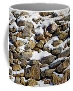 Stones And Snow Coffee Mug