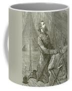 Stonewall Jackson Praying Before The Battle Coffee Mug