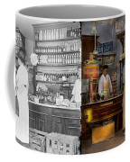 Store - In A General Store 1917 Side By Side Coffee Mug