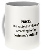 Store Sign Coffee Mug by Anastasiya Malakhova