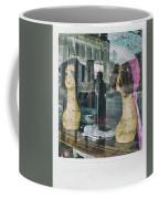 Store Window Stares Coffee Mug