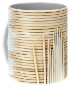 Stored Wooden Toothpicks Coffee Mug