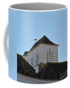 Stork And Nest On Roof In Faro. Portugal Coffee Mug