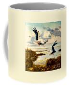 Storks II Coffee Mug by Henryk Gorecki
