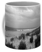 Storm Approaching - Jersey Shore Coffee Mug by Angie Tirado
