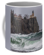 Storm At Split Rock Lighthouse Coffee Mug