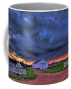 Storm At Sunset Coffee Mug