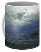 Storm At The Beach Coffee Mug