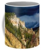 Storm Brewing Over Yellowstone Coffee Mug