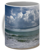 Storm Clouds Above The Atlantic Ocean Coffee Mug