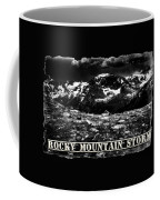 Storm Clouds Gathering In The Rockies Coffee Mug