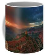 Storm Clouds North Rim Grand Canyon Arizona Coffee Mug by Dave Welling