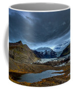 Storm Clouds Over A Glacier - Iceland Coffee Mug