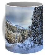 Storm Clouds Over Bow Valley Parkway Coffee Mug
