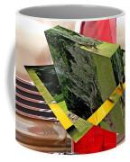 Storm Damage And Tail Light As Art Coffee Mug