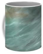 Storm In Deep Ocean Coffee Mug